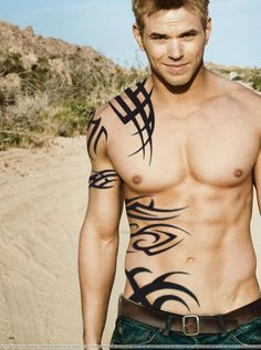 EVAN!!! complete with tats...