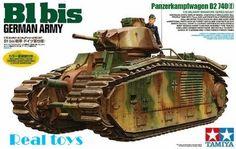 58.00$  Watch here - http://alimuv.worldwells.pw/go.php?t=2034141972 - Tamiya model 35287 1/35 B1 bis Tanks (German Army Ver.) plastic model kit