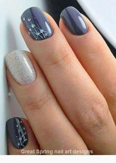 Party Nail Designs Idea new lovely nail art designs to look beautiful on party Party Nail Designs. Here is Party Nail Designs Idea for you. Party Nail Designs sparking new years party nails classic nail art design nail. Nagellack Design, Nagellack Trends, Winter Nails, Spring Nails, Fall Nails, Nails Design Autumn, Summer Nails, Cute Nails For Fall, Gorgeous Nails