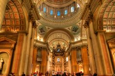Cathedral-Basilica of Mary, Queen of the World in Montreal, Quebec