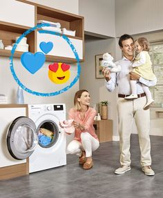 Being a parent can be a big challenge! That's why Beko Hygiene+ Program is here to take care of all your baby's clothes, which are too delicate to be washed together with other clothes. 👶