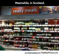 Scottish Ready Meals