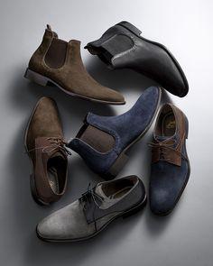 Italian Influence  Classics redesigned along sleeker lines in rich Italian  leather for an of-. Sapatos FormaisEstilo MasculinoCouro ItalianoModa ... 4e7092c24b4