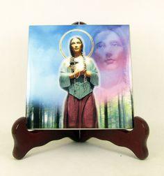 Hey, I found this really awesome Etsy listing at https://www.etsy.com/listing/464059369/st-kateri-tekakwitha-catholic-icon-tile