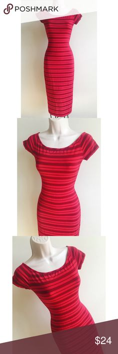 Bebe Dress Bebe fitted dress in very good condition bebe Dresses