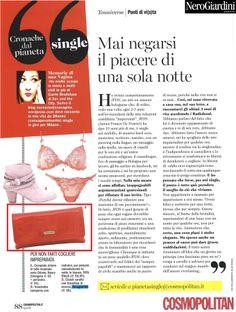 #CosmopolitanIT - April 2014 #cluch by #NeroGiardini