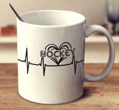 HOCKEY HEARTBEAT Perfect gift for...