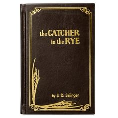 The Catcher in the Rye by J.D. Salinger, Full Leather Custom Binding