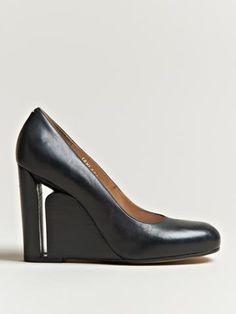 Maison Martin Margiela 22 Womens Wedge Court Shoes