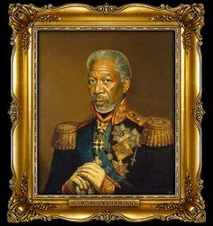 There's a few celebs that were made into Russian Generals. I picked M.F. because.......
