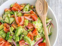 Healthy Salads, Healthy Eating, Caprese Salat, Caesar Salat, Diet Recipes, Healthy Recipes, Detox Salad, No Sugar Diet, Good Food