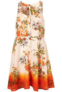 florals and dip dye? perfect.
