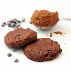 Recipe: Choco Chip Cocoa Cookies (Gluten-Free, Vegan, Refined Sugar-Free)
