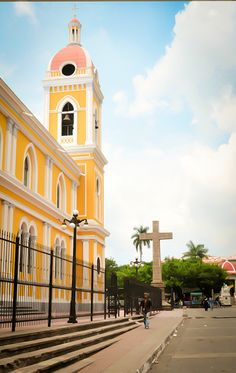 A central plaza that will make you swoon: Granada, Nicaragua