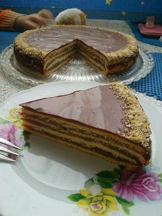 Zserbó cake  Recipe: http://www.kifoztuk.hu/receptjeink/item/
