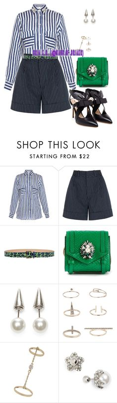 """**"" by briarhoney ❤ liked on Polyvore featuring Stella Jean, Totême, Nicholas Kirkwood, Dsquared2, Shourouk, Fallon and Topshop"