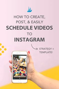 Struggle to create, post, and easily schedule videos to Instagram? Here's your guide! How to create awe-inspiring Instagram videos that build your brand! via @tailwind #instagramvideo #videotips