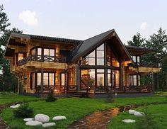 Индивидуальное проектирование домов из клееного бруса