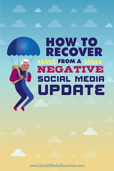 If someone wreaks havoc on your account, you need to be prepared for a worst-case scenario.  In this article youll discover how to recover from a bad post to your social media account.