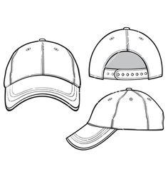 Baseball Cap Vector 1351264 380x400 Fashion Flats