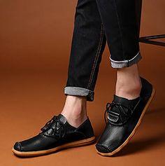 5ae70017f76bfe Flat. Flache SchnürschuheHerren HalbschuheLässige Mode Für MännerOxford  Schuhe
