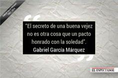 Gabo en 19 frases via Comunidad TodoEle (El Espectador de Colombia)