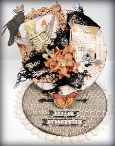 G45 Halloween Card - Scrapbook.com