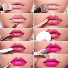 Want Vibrant and Long Lasting Lipstick?  Follow these easy to understand steps and achieve this look  https://www.amazon.com/FASH-Cosmetics©-Professional-Palette-Blushers/dp/B006QHXDHI