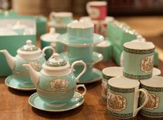 Every house needs a collection of china, whether for everyday use or for special occasions. Fortnum's china collection has something for every occasion, from the finest bone china for one's afternoon tea to beautifully and quirkily decorated crockery that's just right for the breakfast table. All of Fortnum's china collection is produced in England.