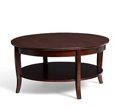 Chloe Round Coffee Table #potterybarn