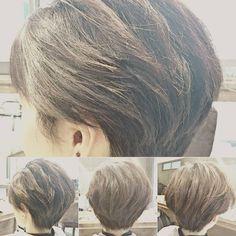クセっ毛ショート★ クセをいかして耳周りソフト刈り上げ、柔らかくカットしました。クセでお悩みの方いかがでしょうか? 髪量:多い  髪質:硬い  太さ:太い  クセ:強い  #piece201#ピエス201#hair#髪#hairstyle#髪型#hairstylist#美容師#モデル#model#instahair#followme #中目黒#サロモ#読モ#ママ読モ#撮影モデル募集中#仕上がり #ヘアカタログ#ヘアケア#ヘアチェンジ#新規紹介割引 #カットカラートリートメント#丸み#柔らかく#クセっ毛#kawaii#かわいい #takeshi_komuro#小室毅