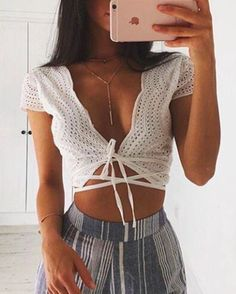 IG: theeluded Gorgeous crochet top. #boho #indie #bohemian #hipster