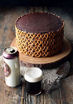 Guinness Cake with Pretzels and a Butter Celebrates! Cookbook Review and… (Chocolate Desserts)