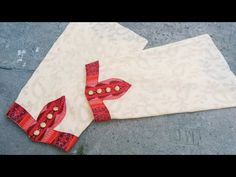 Very Beautiful sleeves design (Easy Method) cutting and stitching In hindi. Chudi Neck Designs, Neck Designs For Suits, Dress Neck Designs, Hand Designs, Sleeve Designs, Churidar Neck Designs, Saree Blouse Neck Designs, Salwar Designs, Kurti Designs Party Wear