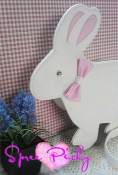 Lolita lovely rabbit bag - free shipping SP140458 http://spreepicky.storenvy.com