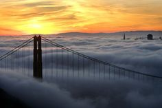 What a sight to see! This view of San Francisco was taken from the Marin headlands. (photo: Frederic Larson, The Chronicle)