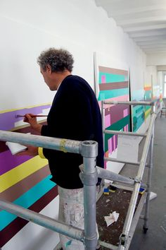 Olav Christopher Jenssen Art Studios, Stockholm, Palette, Artists, Cool Stuff, Artwork, Painting, Inspiration, Cool Things