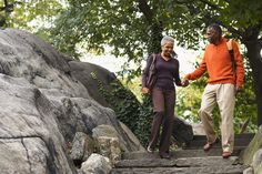 Couple in City Park, New York City, New York, USA