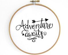 Adventure Cross Stitch Pattern by Crosslings on Etsy