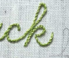 Hand Embroidery: Let