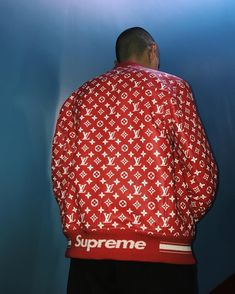 88cdc9b2f402f UA Replica Supreme X Brand hoodie in RED in 2019