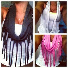 DIY scarves i made!