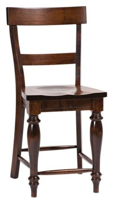Amish Harvest French Country Bar Stool