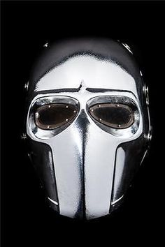 ONIMARU MASK ARMY OF TWO PAINTBALL AIRSOFT HALLOWEEN HELMET CHROME