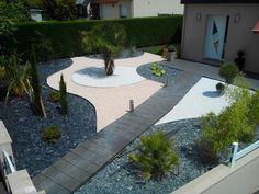 Am nagement jardin moderne 55 designs ultra inspirants - Amenagement jardin sans pelouse ...