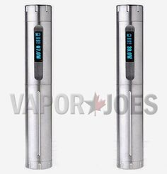 Vapor Joes - Daily Vaping Deals: EPIC: 30 WATT CHI-DNA STAINLESS STEEL TUBE MOD BY ...