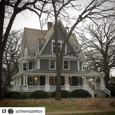 "3,459 Likes, 60 Comments - Ode To Old Houses (@oldhouselove) on Instagram: ""Now that's a porch! What do you enjoy about this old house tagged by @schlemazeltov ・・・ Simpson…"""