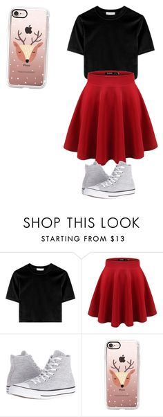 """""""Untitled #5"""" by brennameyer ❤ liked on Polyvore featuring Converse and Casetify"""