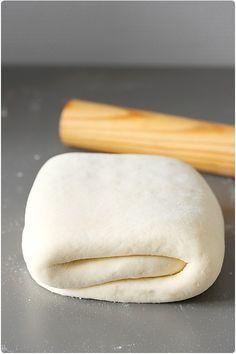 La pâte levée feuilletée : recette en images pour croissants et pains au…