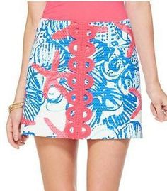 304a7d8dbd0ebb Lilly Pulitzer Tate Skirt in She She Shells -- Endless Summer Sale 2014  Preppy Outfits